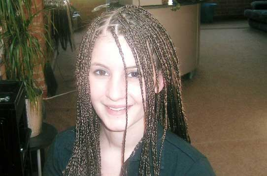 Braided Extension Hair Picture 80