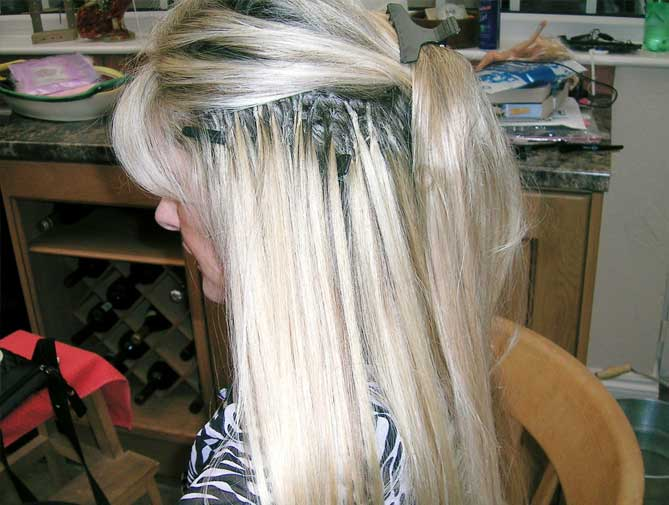 What Are Bonded Hair Extensions 56