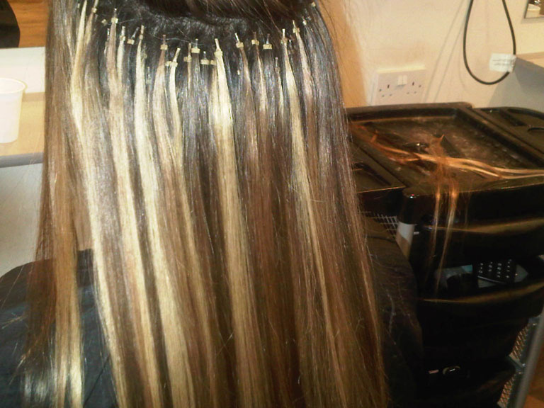 Hair Extensions: Micro Ring