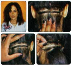 Hair Extensions: Seamless Weaving